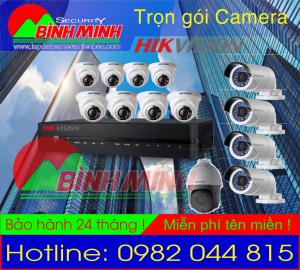 Lắp Đặt Trọn Gói Camera HikVision. 2.0M Full HD 1080P