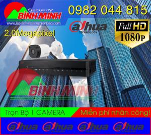 Bộ 1 Mắt Camera Dahua 2.0M . Full HD 1080P