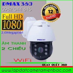 Ưu đãi giảm giáCamera WiFi PTZ Dmax 360