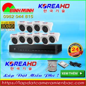 Trọn Bộ 10 Mắt Camera KOREA 2.0
