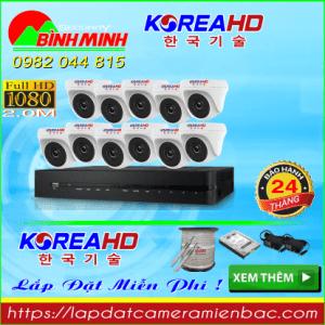 Trọn Bộ 11 Mắt Camera KOREA 2.0