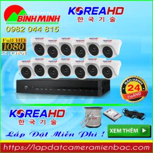 Trọn Bộ 13 Mắt Camera KOREA 2.0