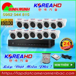 Trọn Bộ 14 Mắt Camera KOREA 2.0