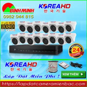 Trọn Bộ 15 Mắt Camera KOREA 2.0