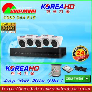 Trọn Bộ 5 Mắt Camera KOREA 2.0
