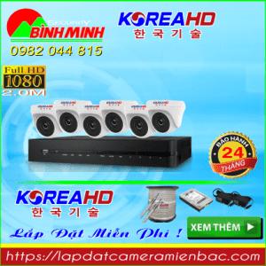 Trọn Bộ 6 Mắt Camera KOREA 2.0