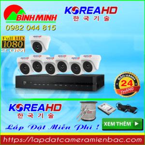 Trọn Bộ 7 Mắt Camera KOREA 2.0