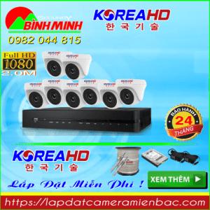 Trọn Bộ 8 Mắt Camera KOREA 2.0