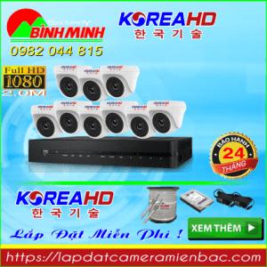 Trọn Bộ 9 Mắt Camera KOREA 2.0