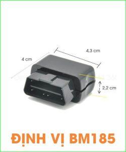 ƯU ĐÃI Định vị BM185– Chức năng định vị gắn sim ĐỊNH VỊ VỊ TRÍ CHÍNH XÁC.định vị giám sát xe