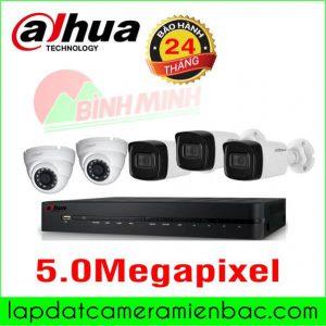 Bộ Camera 5.0M DAHUA giá Ưu Đãi !