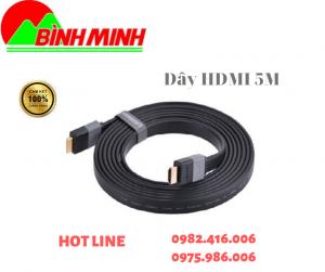THÔNG SỐ KỸ THUẬT  – Dây cáp có chiều dài 3 mét – Dây cáp chuẩn HDMI 1.4 – Dây cáp đạt độ phân giải FULL HD 4096 x 2160 – Hình ảnh siêu nét – Dây cáp đạt tốc độ cao 10.2Gbps – Dây cáp chống nhiễu cực tốt – Dây cáp mềm dẻo dễ lắp đặt – Dây cáp màu đen bọc cao su    LIÊN HỆ TƯ VẤN MIỄN PHÍ VÀ ĐẶT HÀNG Công Ty TNHH Công Nghệ số Bình Minh Địa chỉ : 277 Lương Thế Vinh, Nam Từ Liêm, Hà Nội Hotline : 0975.986.006 – 0982.416.006