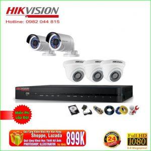 Bộ 5 Mắt Camera Hikvision 2.0M. Full HD 1080P.Mã COMBO DOT72BM5    ĐIỂM KHÁC BIỆT CHỈ CÓ TẠI CAMERA MIỀN BẮC   Quà Tặng VIDEO KHOÁ HỌC BÁN HÀNG GOOGLE, ZALO, FACEBOOK TỪ A – Z TRỊ GIÁ: 850K Quà Tặng KHOÁ HỌC THIẾT KẾ ẢNH: PHOTOSHOP, ILLUSTRATOR Đăng ký MUA HÀNG tại web giảm thêm 50K Quà Tặng Miễn Phí Tên Miền Xem Qua Internet Trị Giá 350k Quà Tặng Miễn Phí 20M Dây Liền Nguồn Quà Tặng Hỗ Trợ Miễn Phí Phần Mềm Trọn Đời Sản Phẩm Tư Vấn Và Lắp Đặt Miễn Phí Bán Kính 20KM Đổi Mới Sản Phẩm 10 Ngày Sử Dụng đầu tiên Giao hàng – Nhận hàng kiểm tra – Thanh toán ! Lắp Đặt Và Bảo Hành Tận Nơi Chính Hãng 2 Năm !