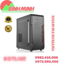 Thông số kĩ thuật: - Chất liệu: SECC O,55mm - Kích thước: 455x205x440(mm) - Cổng giao tiếp: Front USB, Audio - Công nghệ sơn: Sơn sần tĩnh điện(sandy) - Khay ổ: 3 CD, 5 HDD,2 SSD - Nguồn: ATX - Làm mát: Intel TAC 2.0, 12cm fan    LIÊN HỆ TƯ VẤN MIỄN PHÍ VÀ ĐẶT HÀNG – Công Ty TNHH Công Nghệ số Bình Minh – Địa chỉ : 277 Lương Thế Vinh, Nam Từ Liêm, Hà Nội - Hotline: 0982.416.006 - 0975.986.006